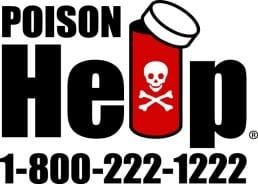Poison Help Line - 1 (800) 222-1222